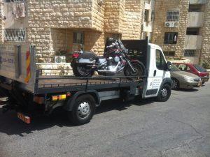פריצת מנעול של אופנוע
