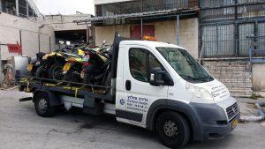 גרירת קטנועים בירושלים