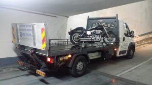 חילוץ אופנוע כבד